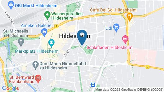 Stadtresidenz Hildesheim Mitte Map