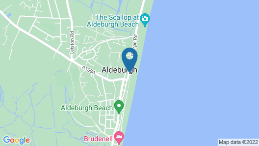 White Lion Hotel- Aldeburgh Map