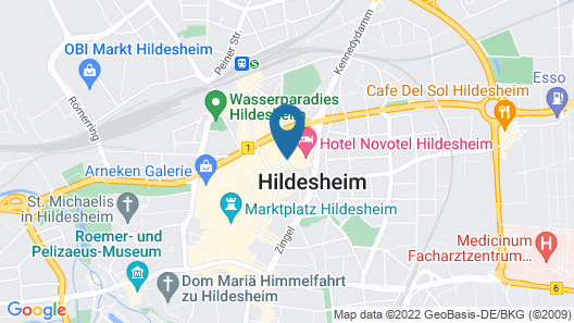 Novotel Hildesheim Map