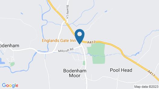 England's Gate and Coachhouse Map