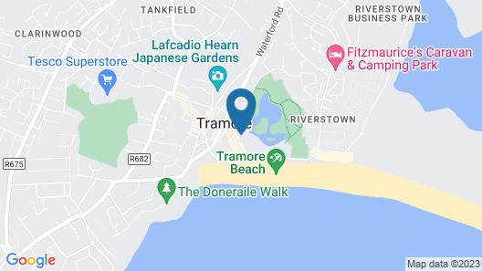 O'Sheas Hotel Tramore Map
