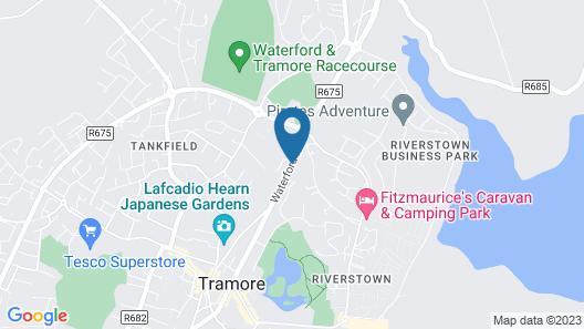 Glenart House Map