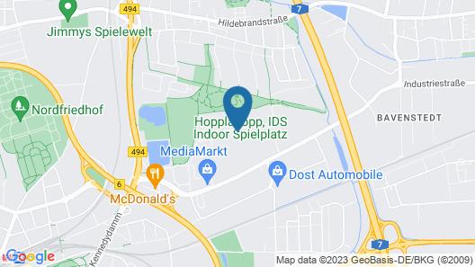 Lindemann Hotel Map