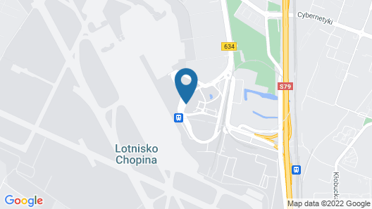 Courtyard by Marriott Warsaw Airport Map