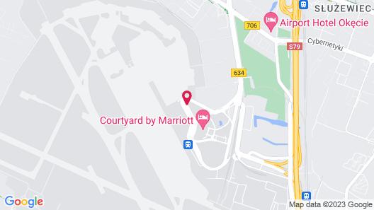 Renaissance Warsaw Airport Hotel Map