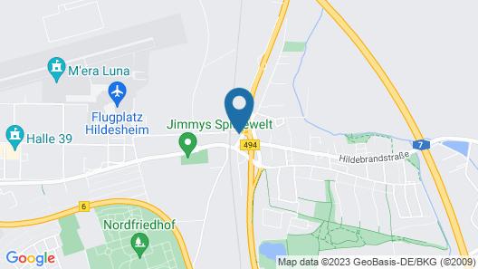 Hotel Meyer Map