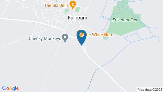 The White Hart Country Inn Map