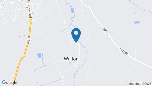Mercure Warwickshire Walton Hall Hotel & Spa Map