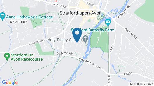 Merchants Cottage Map