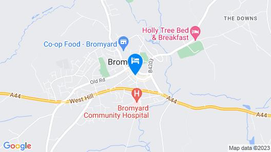 The Inn at Bromyard Map