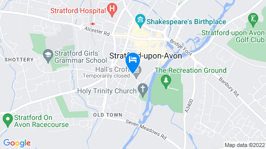 Luxury Town Centre Apartment Stratford Upon Avon Map