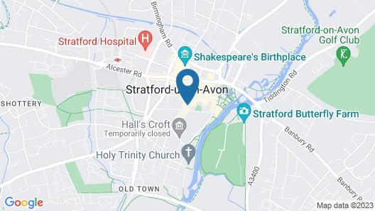 Hotel Indigo Stratford Upon Avon Map