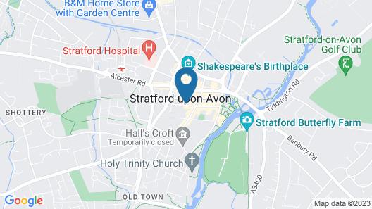 Hamlet Cottage Map