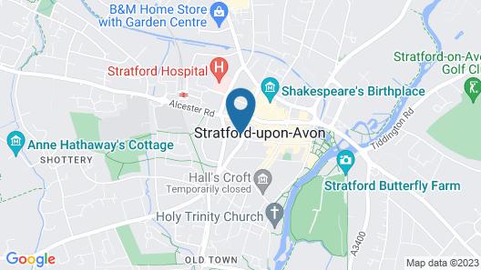 Hotel Du Vin Stratford Upon Avon Map