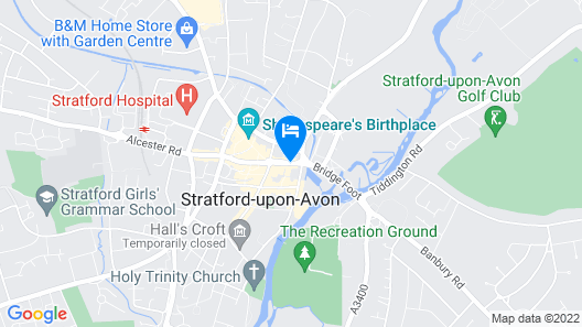 Narrow Boat Stratford-on-avon Map