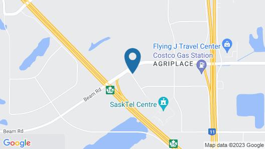 Motel 6 Saskatoon, SK Map
