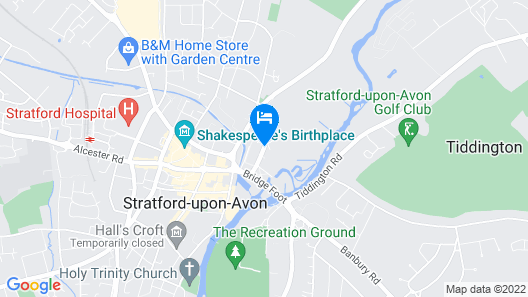 Crowne Plaza Stratford Upon Avon Map