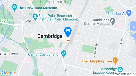 ibis Cambridge Central Station Map