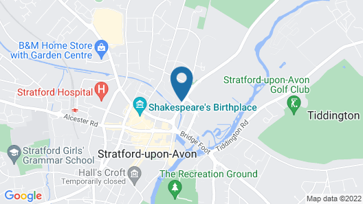 Best Western Grosvenor Map