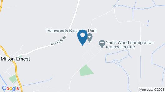 Twinwoods Guestrooms Map