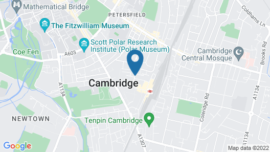 Fenners Hotel Map