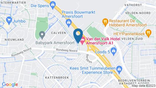 Van Der Valk Hotel Amersfoort A1 Map