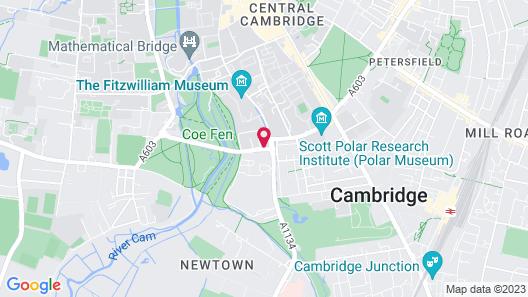 Royal Cambridge Map