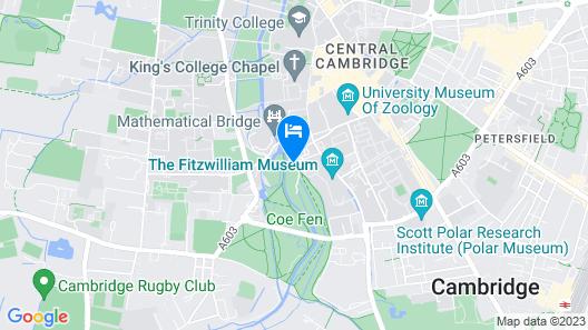 Graduate Cambridge Map