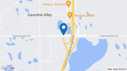 Hampton Inn & Suites by Hilton Red Deer Map