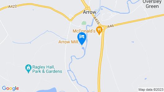 Arrow Mill Map