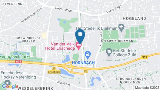 Van Der Valk Hotel Enschede Map