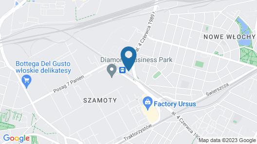 Mercure Warszawa Ursus Station Map