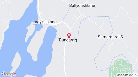 St Awaries Map
