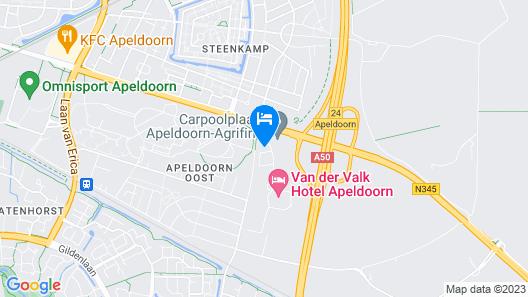 Van der Valk Hotel Apeldoorn Map