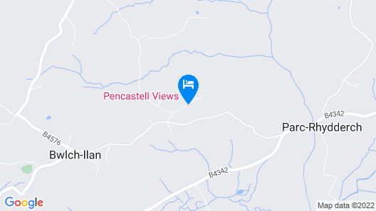Pencastell Views Pod With Stunning Views Map