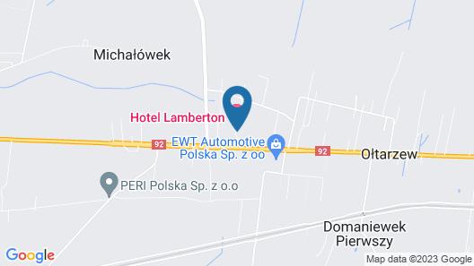 Lamberton Hotel Map