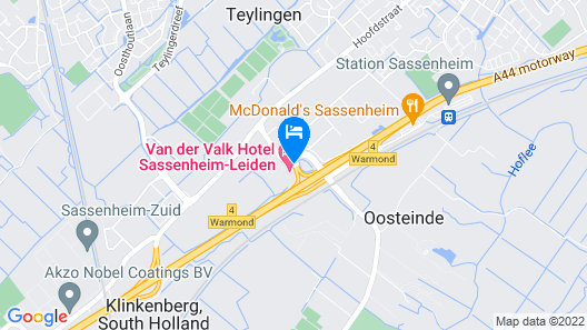 Van der Valk Hotel Sassenheim-Leiden Map