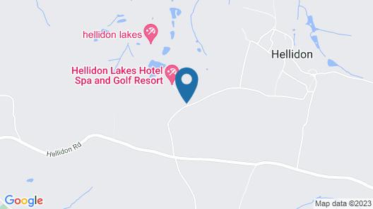 Hellidon Lakes Golf & Spa Hotel Map