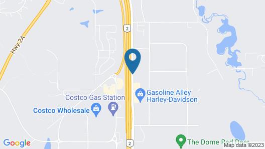 Howard Johnson by Wyndham Red Deer Map