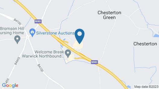 Days Inn by Wyndham Warwick South M40 Map