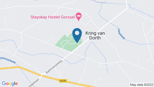 2 Bedroom Accommodation in Kring van Dorth Map