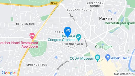 Hotel Pegasus Map