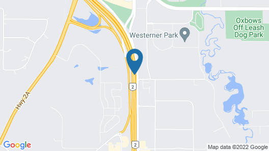 Holiday Inn Hotel & Suites Red Deer South, an IHG Hotel Map