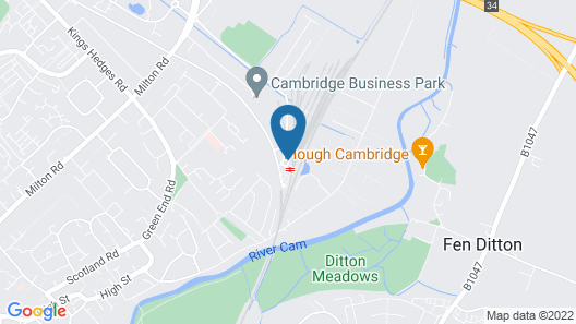 Novotel Cambridge North (Opening May 2021) Map