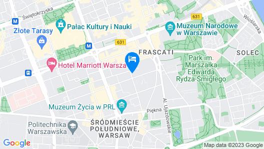 Mercure Warszawa Grand Map
