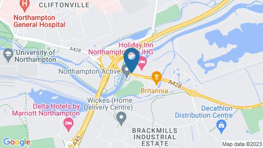 Holiday Inn Northampton Map