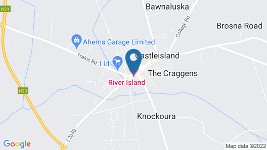River Island Hotel Map