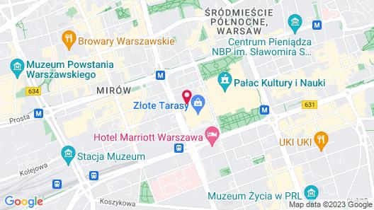 Mercure Warszawa Centrum Map
