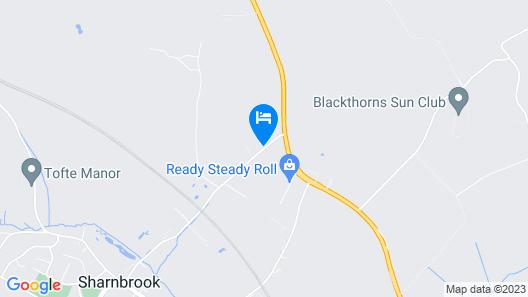 The Sharnbrook Hotel Map