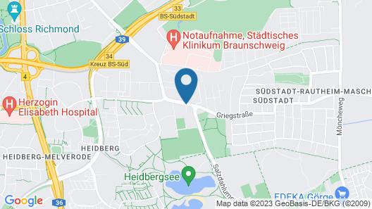 Vienna House Easy Braunschweig Map